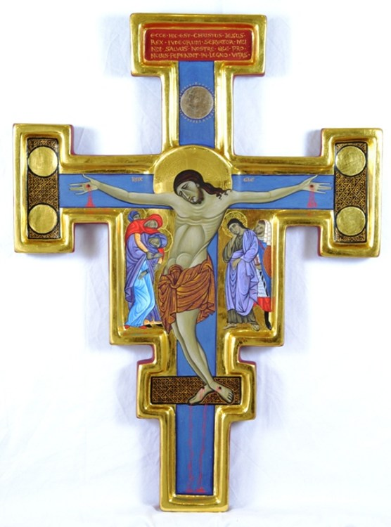 master of st francis crucifix