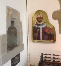 St Anselm in situ
