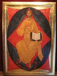 Borisoglebsky Christ Enthroned