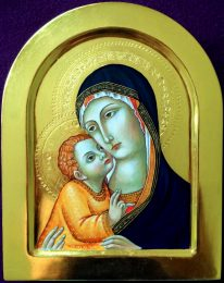 Madonna and Child (after Sano di Pietro)